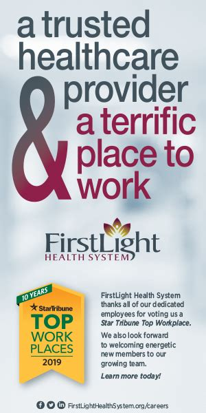 Light Health System by Firstlight Is Awarded Topworkplace Designation For 2019