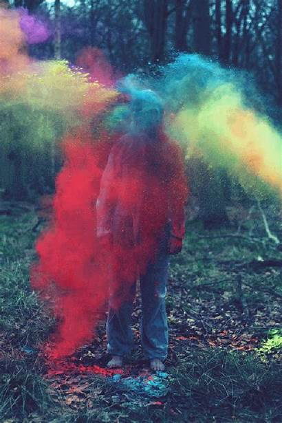 Chalk Smoke Bomb Bombs Colored Powder Colors