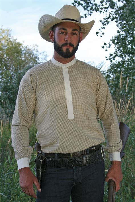 mens western pullover shirt cattle kate