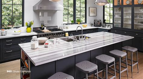 Wolf Classic Cabinets York by Formica Laminate Swingle Countertops