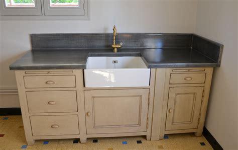 changer plan de travail cuisine plan de travail de cuisine en zinc