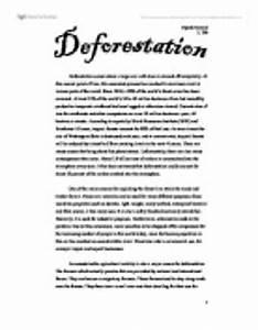 Essay On Deforestation dancers creative writing coursework writing service essay writers jobs in kenya