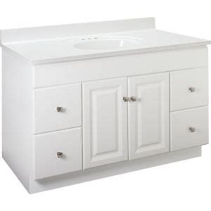 48 kitchen sink base cabinet new bathroom vanity drawer base cabinet white thermofoil 7361