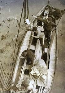 The Titanic's last lifeboat pictured which still contained ...
