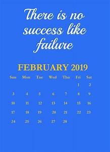 Calendar February 2020 January 2020 Printable February 2019 Quotes Calendar Quotes Monthly Calendar