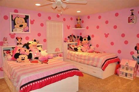 minnie mouse bed decor صور ديكورات غرف نوم اطفال 2016 بدهانات والوان مودرن سوبر