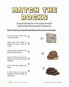 Types of Rocks: Quiz | Activities, Coloring sheets and ...