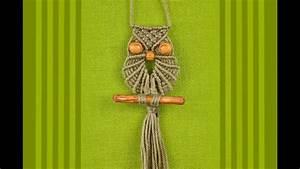 Makramee Eule Anleitung : macrame owl makramee eule b ho youtube ~ A.2002-acura-tl-radio.info Haus und Dekorationen