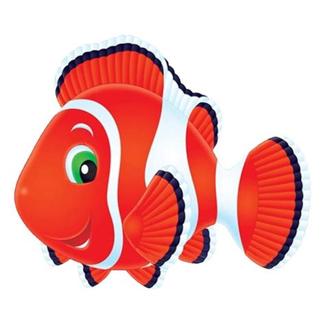 déco jungle chambre bébé sticker poisson et blanc un sticker thème mer pour