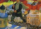 The Bolshevik. Boris Mikhailovich KUSTODIEV   Great ...