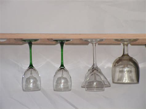 wine glass hangers under cabinet wine glass rack stemware holder for under cabinet you select