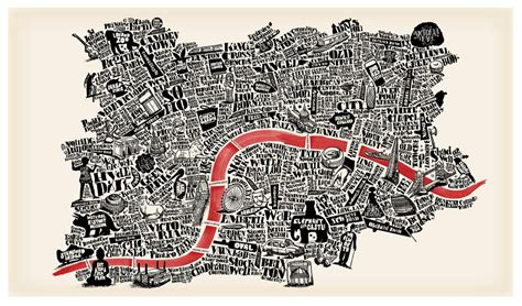 11 hand drawn maps to adorn any london lover s wall now here this time out london