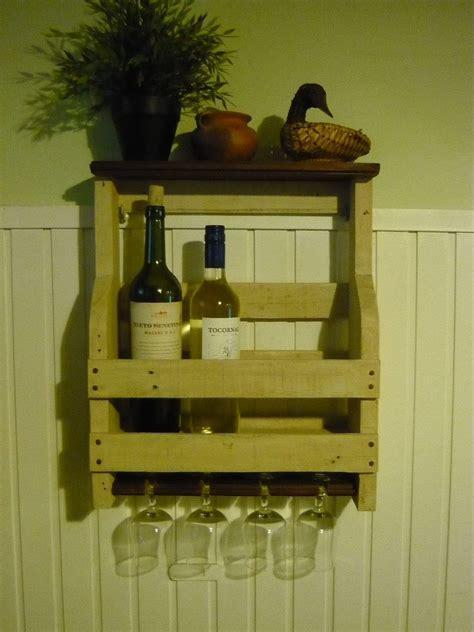 Porta Botellas De Vino Y Copas / Pallet Wine Rack ? 1001