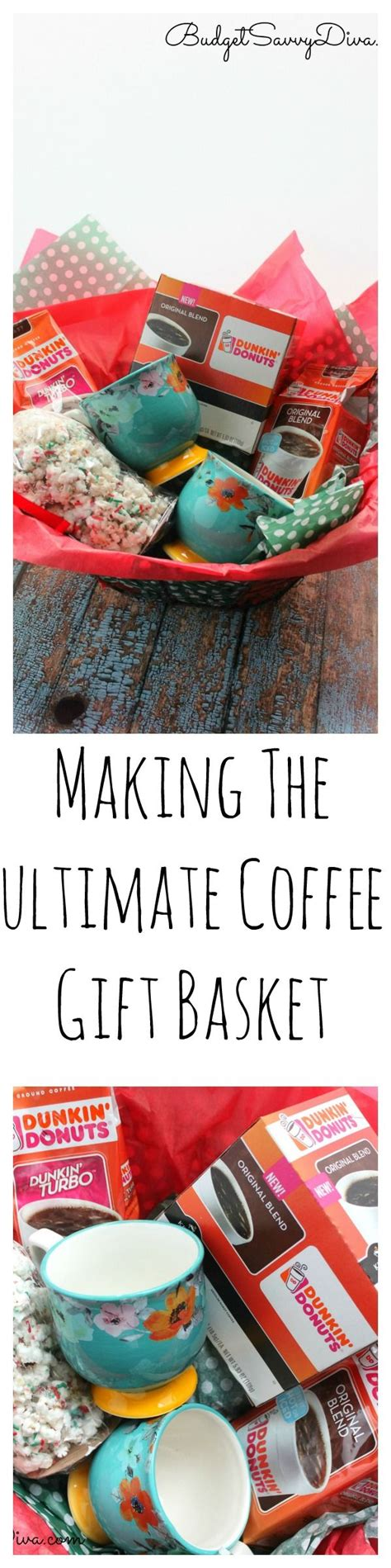 Sizzle or confetti (can be picked up at craft and party stores. DIY - Making The Ultimate Coffee Gift Basket   Creative ...
