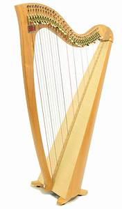 Siff Saff - 34 String Student Celtic Lever Harp - Teifi Harps