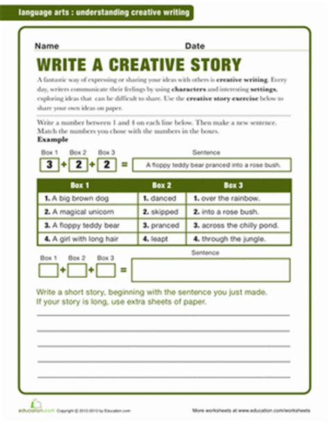 2nd grade writing worksheets free printables education