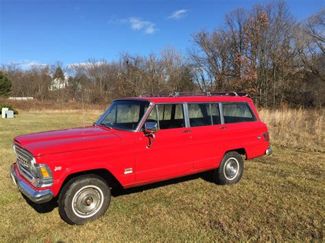 1971 jeep wagoneer very rare 1971 jeep custom wagoneer with 1972 factory v8