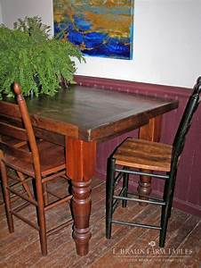 1000 images about reclaimed barn wood furniture by e With counter height harvest table