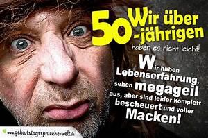 Geburtstagssprüche 30 Lustig Frech : geburtstagsspruch zum 50 geburtstag als spruchbild ~ Frokenaadalensverden.com Haus und Dekorationen