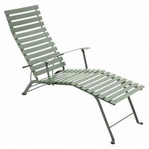Chaise Longue Pliante : chaise longue pliante bistro de fermob cactus ~ Melissatoandfro.com Idées de Décoration