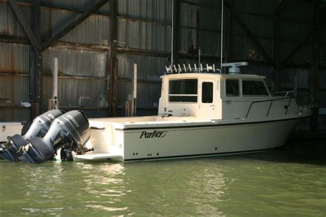 parker  boats yachts  sale
