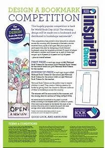 howes library blog world book day bookmark competition With world book day bookmark template