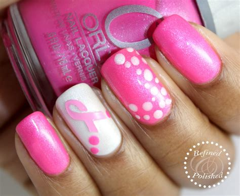 breast cancer nail designs breast cancer awareness nail vinyls for a cause