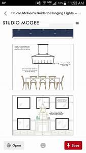 Studio Mcgee Guide How To Choose Light Fixture  How High