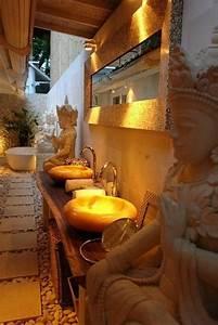 But Salle De Bain : 40 id es en photos comment incorporer l 39 ambiance zen ~ Dallasstarsshop.com Idées de Décoration