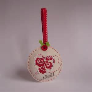 roxy creations felt christmas ornaments