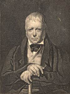 Sir Walter Scott, engraved by Henry Bryan Hall after Sir ...