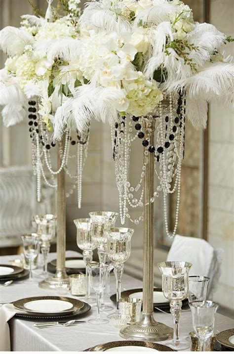 Gatsby Inspired Wedding Theme ~ Hot Chocolates Blog