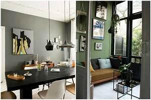 revgercom deco vert kaki idee inspirante pour la With salle a manger kaki