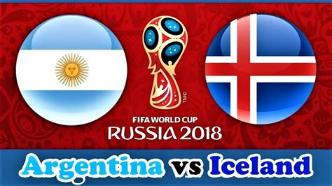 Pes Argentina Iceland Fifa World Cup