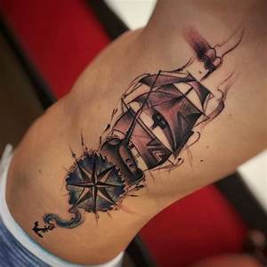 50 Amazing Ship Tattoos You Won U0026 39 T Believe Are Real