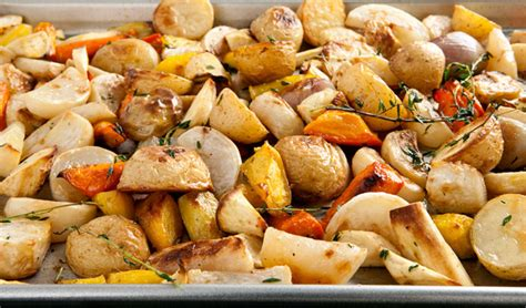 Ovenroasted Root Vegetable Medley  In The Kitchen With