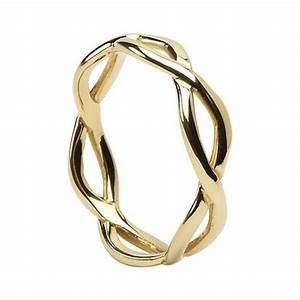 Celtic infinity wedding rings made in ireland sterling for Celtic infinity knot wedding ring