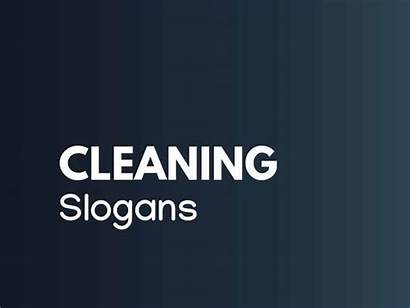 Cleaning Slogans Catchy Thebrandboy