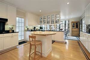 53 charming kitchens with light wood floors With kitchen cabinet trends 2018 combined with lion wall art amazon