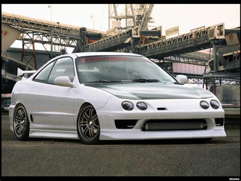 JDM Acura : Custom White Acura Rsx Wallpaper
