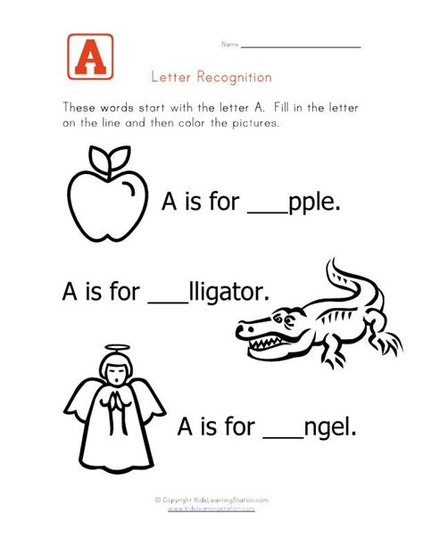 words that start with the letter a write in the 525 | 0c5786c386f40da5ea064753e7ffbf8e alphabet words alphabet worksheets
