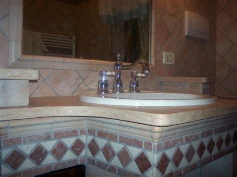 foto ristrutturazione bagno  lavabo  muratura