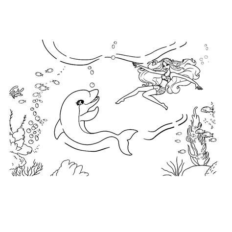 Kleurplaten Dolfijnen En Zeemeerminnen by Leuk Voor En Het Zeemeermin Avontuur 0005