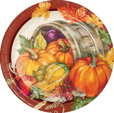 Plentiful Harvest 7-inch Plate: Party at Lewis Elegant ...