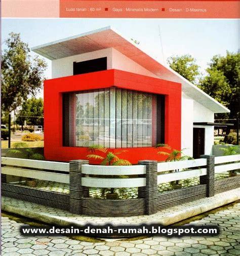 desain minimalis rumah hook  pojok jalan desain denah
