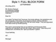 Layout Of Business Letters 8 Full Block Business Letter Invoice Template Download 13 Full Block Styles Letter Bussines Proposal 2017 Example Of Block Business Letter Cover Letter Templates