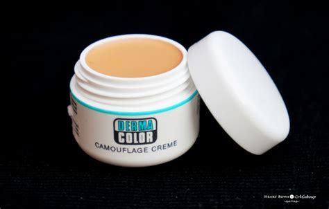kryolan derma color camouflage creme review swatches