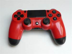 Sony PlayStation 4 RED DualShock PS4 Controller CUH-ZCT1E ...