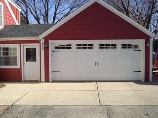 Tool Shed Milwaukee Wi by Carriage House Style Garage Doors Craftsman Shed
