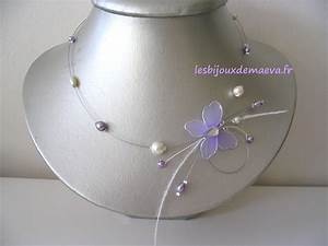 collier mariage fantaisie parme ivoire subtile With bijoux fantaisie pas cher mariage